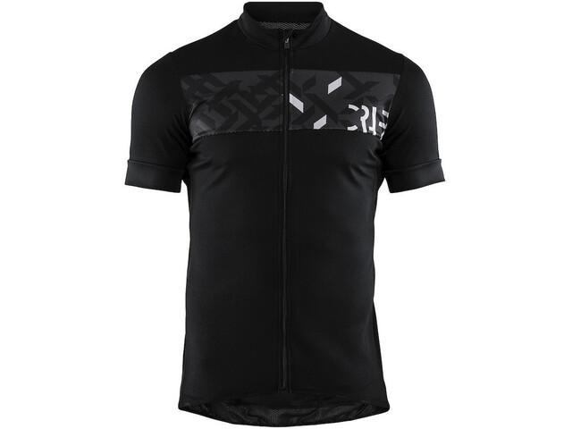 Craft Reel Jersey Men black/crest